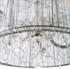 Maria Theresa 5 lichts C arm met zilveren kap