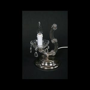 Afbeelding van Maria Theresa tafellamp chroom