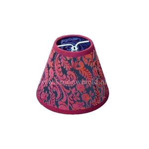Afbeelding van Klemkapje flock rood
