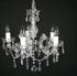 Maria Theresa 5 lichts c arm chroom