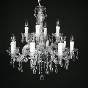Afbeelding van Maria Theresa ( 8 + 4 ) lichts chroom