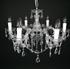 Maria Theresa 6 lichts chroom