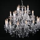 Afbeelding van Maria Theresa 28 lichts chroom