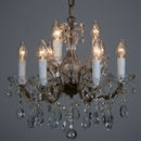 Afbeelding van Maria Theresa 6+3 lichts C arm Roest
