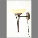 Afbeelding van Fabbro wandlamp 30 cm champagne glas