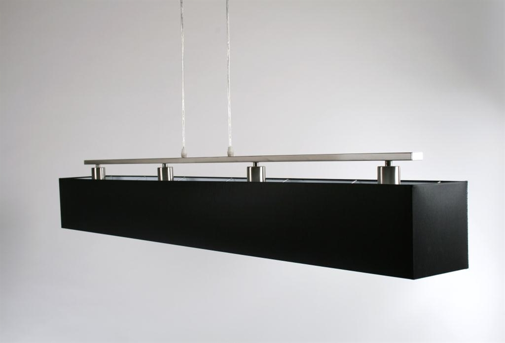 Moderne Keukenverlichting : Home Hanglampen Box hanglamp met zwarte ...