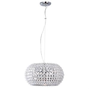 Afbeelding van Ceste hanglamp 30 cm met echt kristal