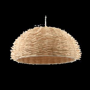 Afbeelding van Rotan hanglamp 60 cm naturel