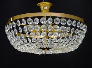 Afbeelding van Ceste plafondlamp 30 cm messing