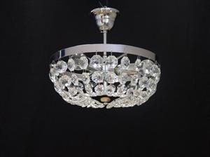 Afbeelding van Ceste plafondlamp 30 cm chroom