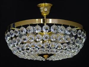Afbeelding van Ceste plafondlamp 40 cm messing
