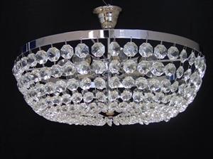 Afbeelding van Ceste plafondlamp 50 cm chroom