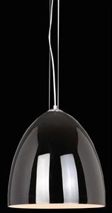 Afbeelding van Uovo hanglamp zwart